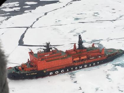 ついに実現!念願の北極点への船旅!