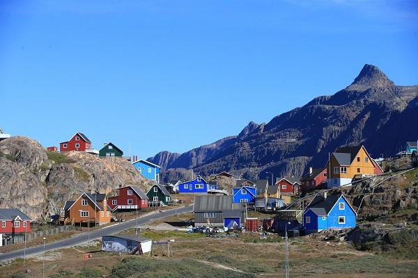 グリーンランドの集落
