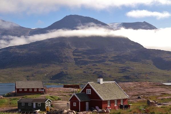南西グリーンランドの風景