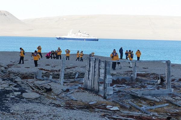 ビーチー島の北極旅行