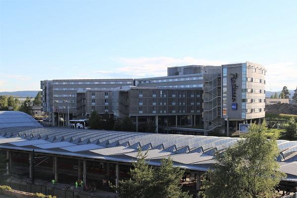 スピッツベルゲン旅行で利用するオスロ空港のホテル